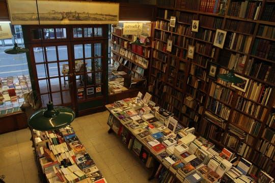 Librería Alberto Casares. Foto: LA NACION / Guadalupe Aizaga