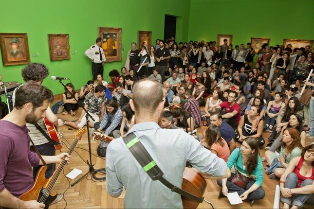 La sala dedicada al impresionismo alberga expresiones musicales. Foto: Gentileza Ministerio de Cultura de la Nación