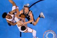 San Antonio quedó eliminado en el que podría haber sido el último partido de Ginóbili en la NBA