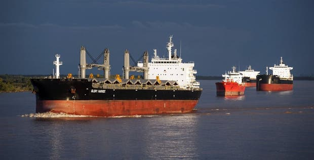 El 80% del comercio exterior argentino se hace por vía acuática