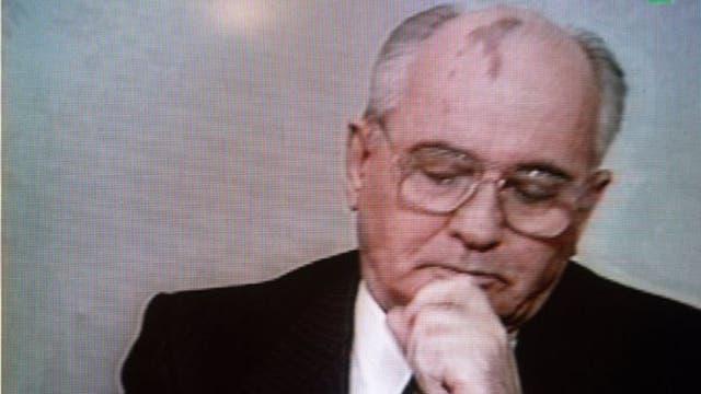 25 de diciembre de 1991: Mijaíl Gorbachov renuncia dramáticamente en la televisión estatal. Ahora sí: la URSS ha dejado de existir