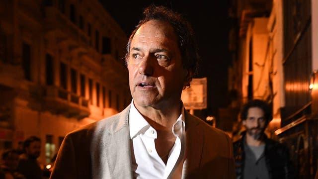 El ex gobernador Daniel Scioli