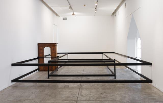 Fuga, obra de Eugenia Calvo en el Centro Cultural Recoleta