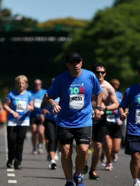 Con un entrenamiento constante llegó a correr media maratón