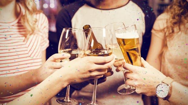 BonVivir propone brindar con cervezas, rosados y espumosos, bebidas ideales para los días soleados