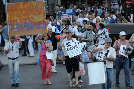 Se trata de la segunda gran protesta contra el Gobierno convocada desde las redes sociales. Foto: DyN