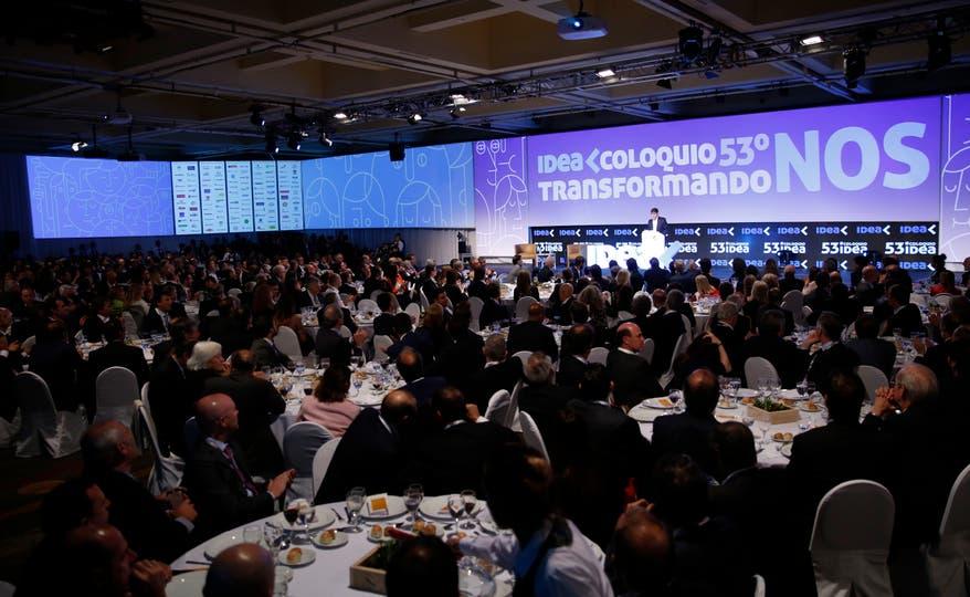 Cena inaugural del 53 Coloquio de Idea Hotel Sheraton de Mar del Plata. Foto: Mauro V. Rizzi