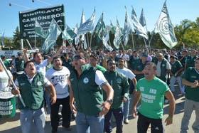 Las protestas de camioneros en Córdoba por el encuadramiento de transportistas se suceden desde el domingo pasado