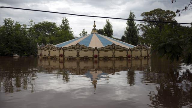 Las inundaciones en Corcordia