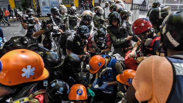 El trabajo periodístico en Venezuela