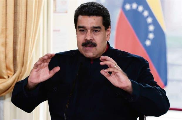 Maduro, durante una reunión de gabinete en el Palacio de Miraflores