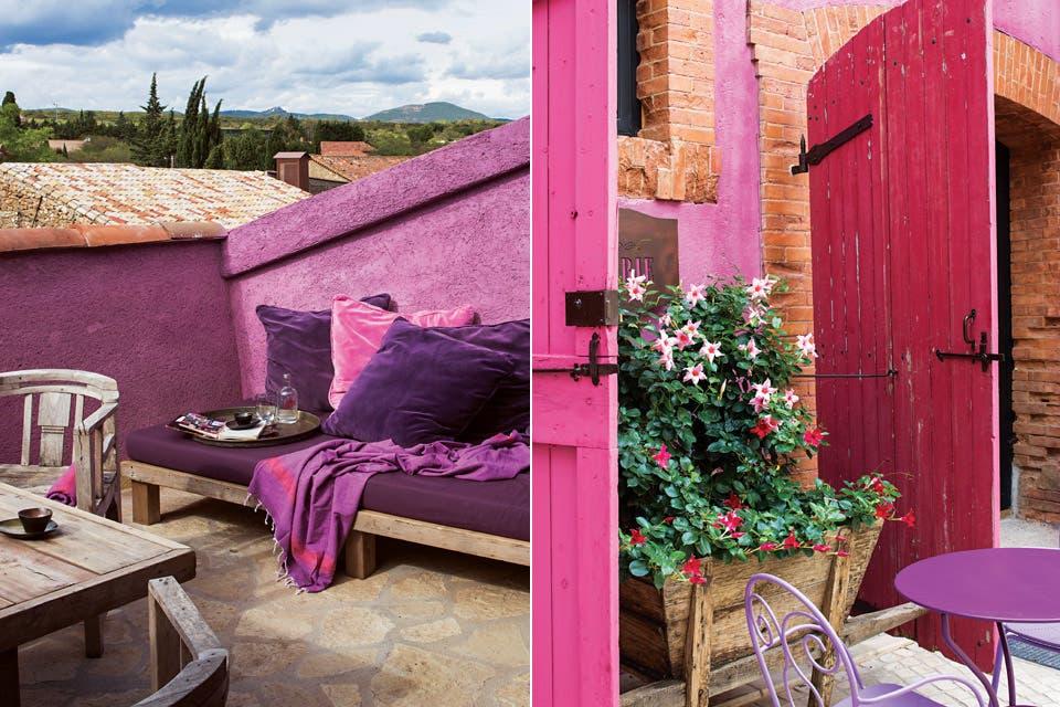Los exteriores invitan a relajarse en un entorno de ensueño.  /Eugenia Daneri