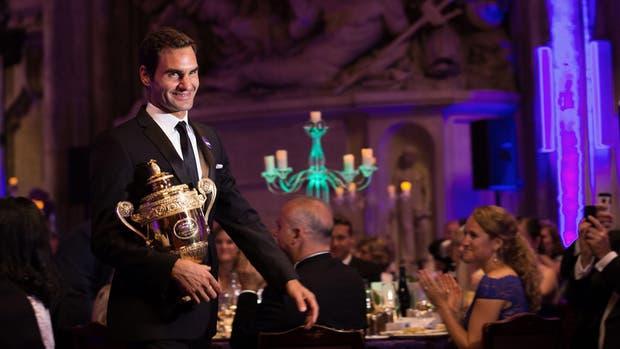 Toda la elegancia del eterno Roger Federer