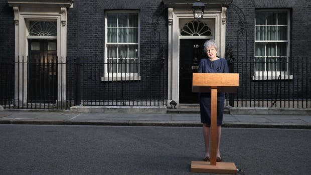 La premier británica Theresa May