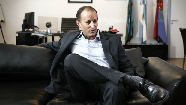 El intendente de Lomas, Martín Insaurralde