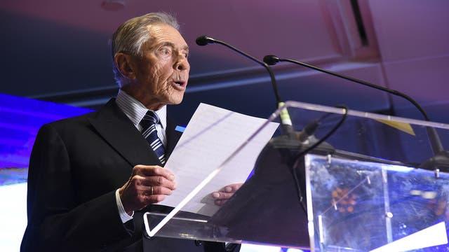 Alejandro Roemmers fue distinguido con el premio a la trayectoria empresarial .