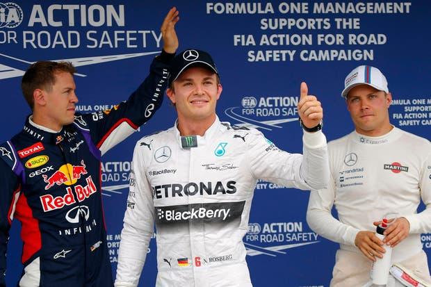 Nico Rosberg saldrá desde la primera posición en Hungría