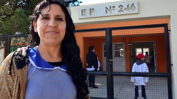 Norma Zapata le salvó la vida a una alumna del colegio en el que trabaja