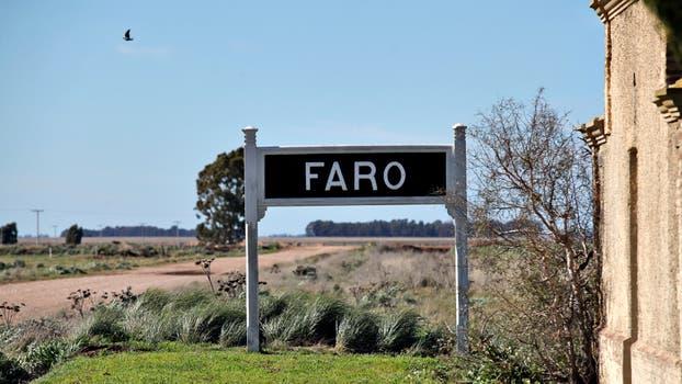 La vieja estación de trenes de Faro. Foto: LA NACION / Ricardo Pristupluk