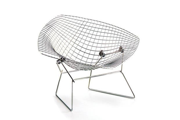 Diamond-Chair, Bertoia..
