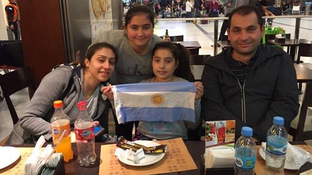 La familia Touma regresó a Siria