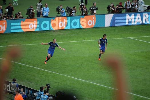 La Argentina perdió con Alemania 1-0 en la final. Foto: LA NACION / Sebastián Rodeiro / Enviado especial