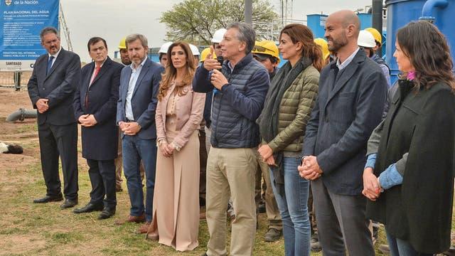 """Mauricio Macri en Santiago del Estero: """"Debemos decirnos la verdad, aunque duela, y asumir que tenemos muchos problemas de pobreza"""""""