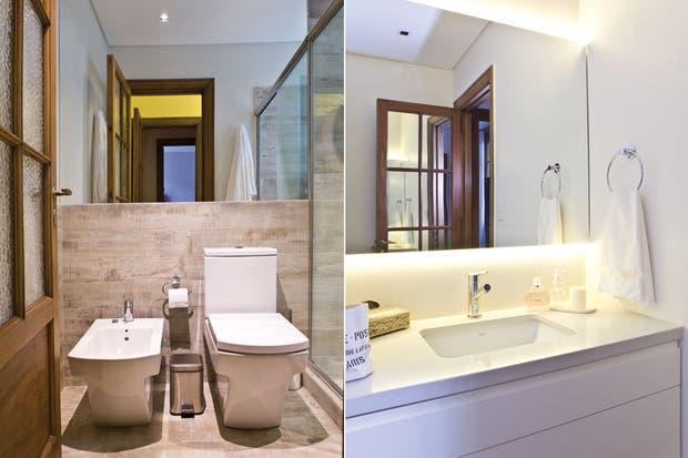 Bachas Para Baño Modernas:Baños: 6 reformas exitosas para imitar – Reciclar, renovar – ESPACIO