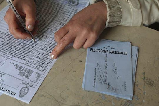 Una jornada electoral que se desarrolló con total tranquilidad. Foto: LA NACION / Miguel Acevedo Riú