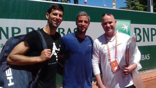 Djokovic pudo con Schwartzman; arrasó Nadal