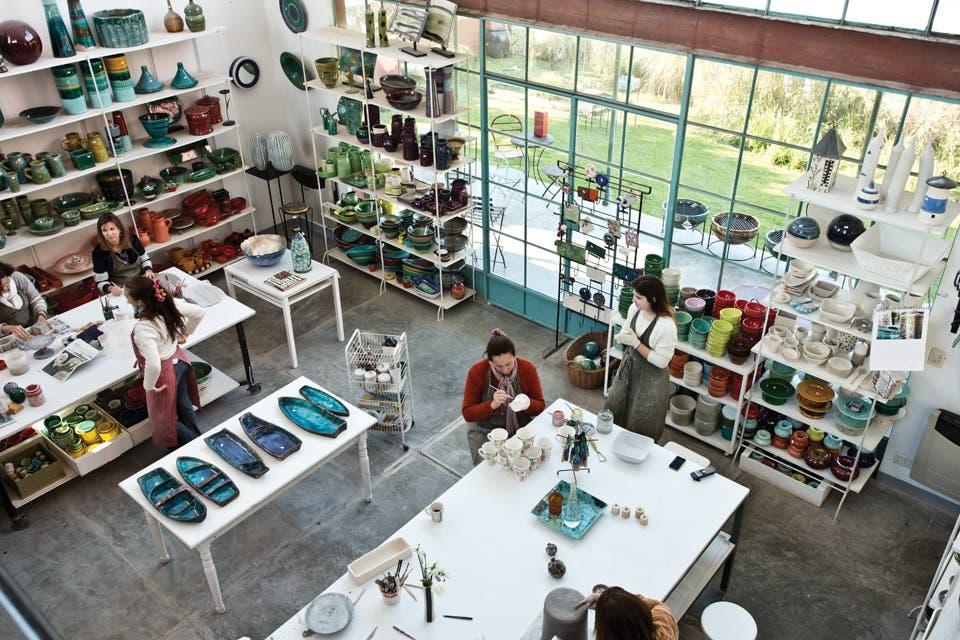 Un paraíso para los amantes de la cerámica   living   espacio living