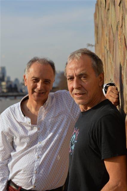 Claudio Méndez y Fernando Egozcue