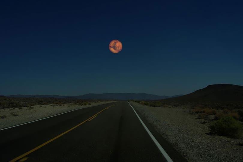 Cómo se vería Marte.
