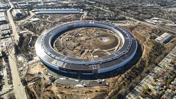 Con un particular diseño, el Apple Campus 2 ocupa 260 mil metros cuadrados