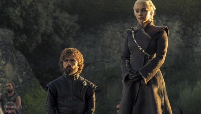 Daenerys y Tyrion, tras el triunfo