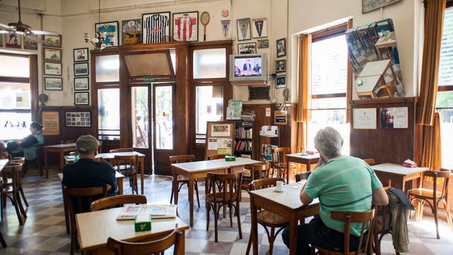 En Barracas, el Bar El Progreso