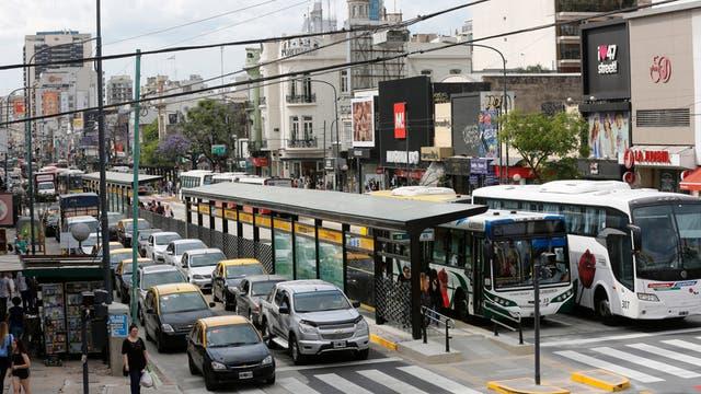 La semana próxima se inaugurará el séptimo corredor exclusivo para colectivos que habrá en la ciudad
