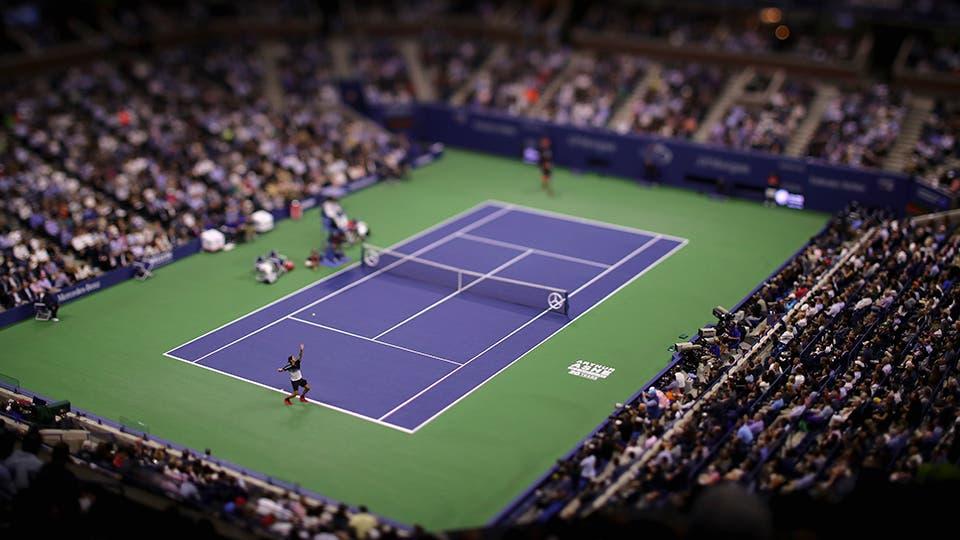 Juan Martín del Potro-Roger Federer, US Open, cuartos de final. Foto: AFP