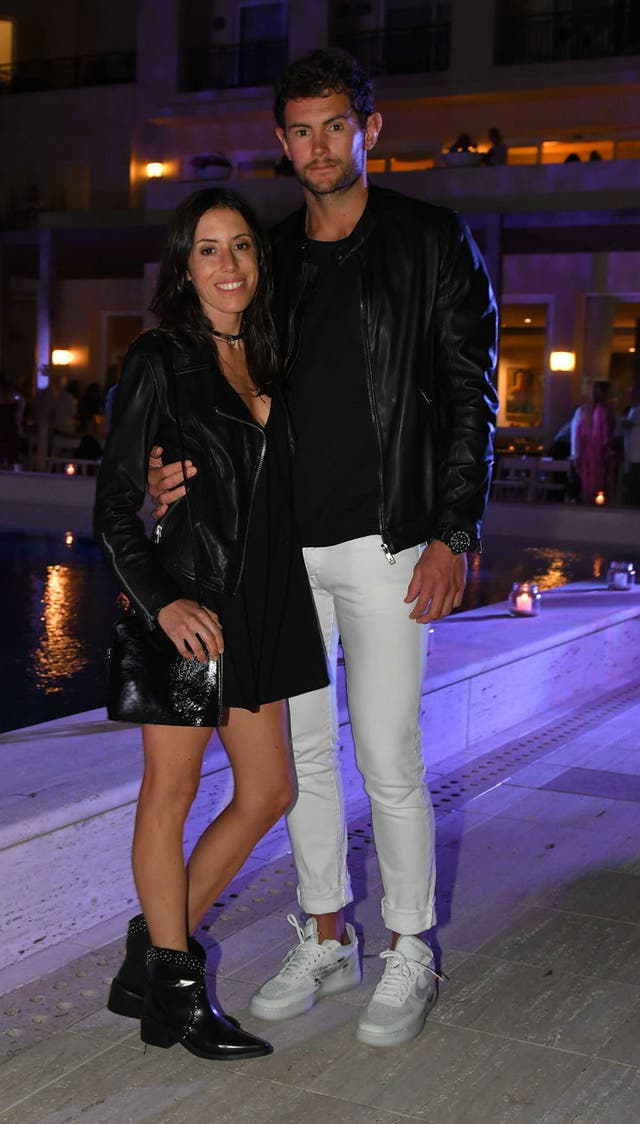 Sofía y Tomy disfrutan de las fiestas con pile