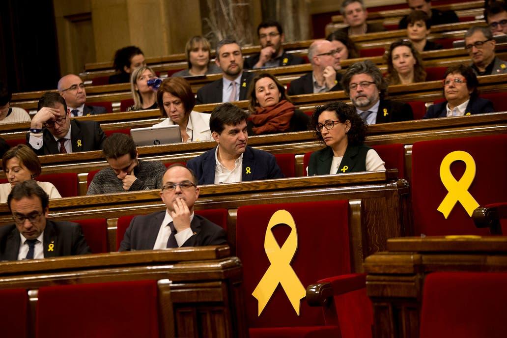 Diputado preso será embestido como presidente de la Generalidad — Cataluña
