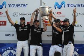 Facundo y Gonzalito Pieres, Pablo Mac Donough y Juan Martín Nero: Ellerstina campeón 2010, para la historia
