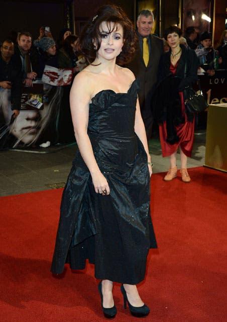 Helena Bonham Carter también forma parte del elenco de esta película. Foto: /AP