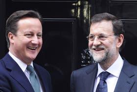 Cameron y Rajoy conversaron sobre el conflicto por Gibraltar