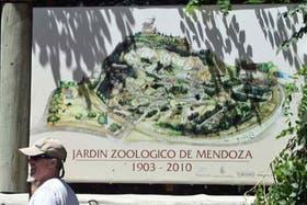 El ingreso al Zoo donde se produjo la matanza de animales