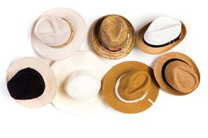 Elegidos en sombreros veraniegos
