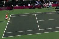 El partido de tenis más rápido de la historia: jugó un punto, se retiró y hay sospechas de apuestas
