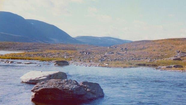 El monte Halti en Noruega