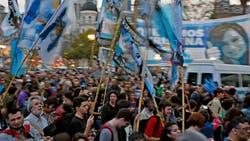 EN VIVO: El kirchnerismo, en la calle para reclamar por la falta de puestos de trabajo