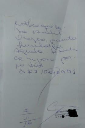 El certificado médico que presentó la fiscal Anabel Orozco y que usó para irse de vacaciones a Brasil