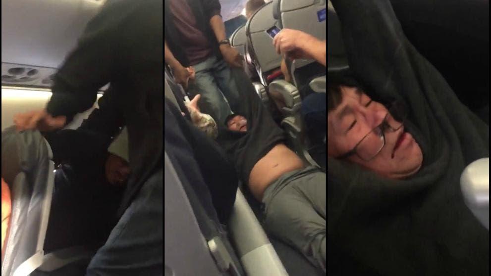 Termina en el hospital pasajero expulsado por United Airlines